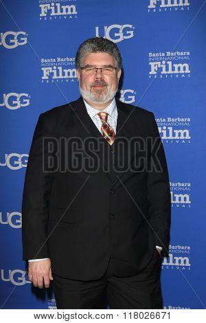 SANTA BARBARA - FEB 12:  Richard Moos at the 31st Santa Barbara International Film Festival - Cinema Vanguard Award on February 12, 2016 in Santa Barbara, California