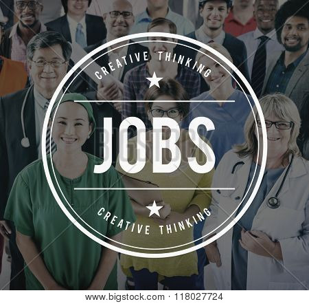 Job Employment Hiring Career Occupation Concept