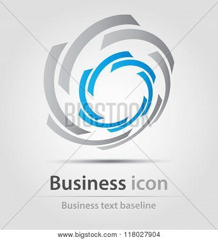 Circular Business Icon