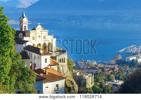The Madonna Del Sasso Church, Locarno