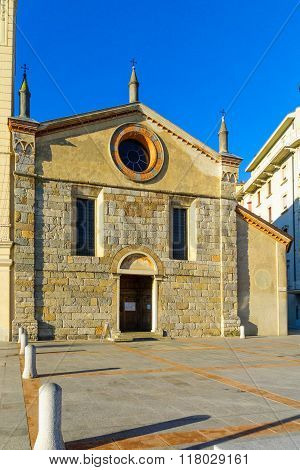 The Church Of Santa Maria Degli Angioli, Lugano..