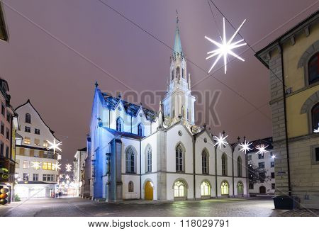 St. Lawrence Church In St. Gallen