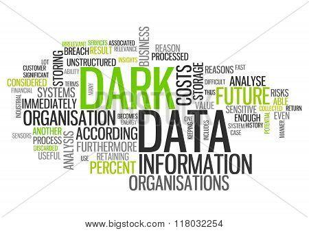 Word Cloud Dark Data