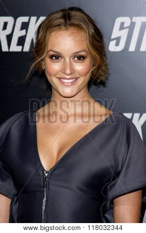 Leighton Meester at the Los Angeles Premiere of