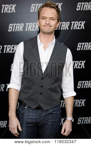 Neil Patrick Harris at the Los Angeles Premiere of