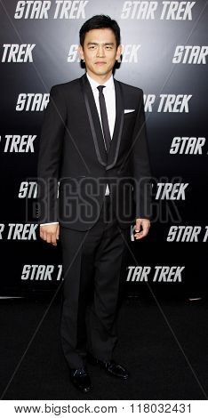 John Cho at the Los Angeles Premiere of