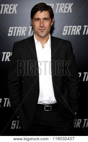 Matthew Fox at the Los Angeles Premiere of