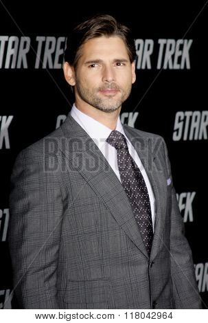 Eric Bana at the Los Angeles Premiere of