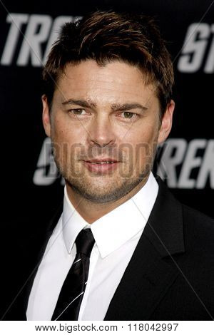 Karl Urban at the Los Angeles Premiere of