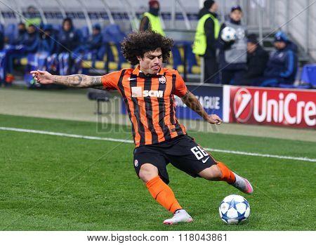 Marcio Azevedo Of Fc Shakhtar Donetsk