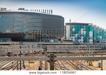 Sahmri And Newrah Buildings In Adelaide Cit