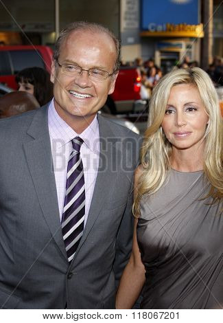 Kelsey Grammer and Camille Grammer at the Los Angeles Premiere of