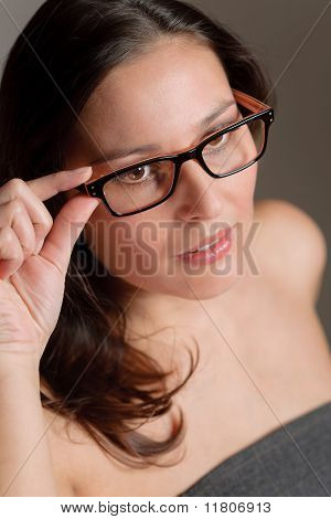 Designer Glasses - Successful Businesswoman