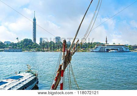 The Embankment Of Cairo