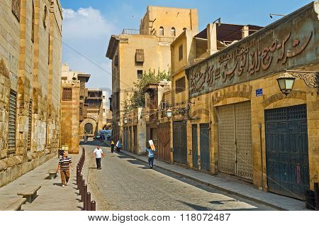 Walking In Old Cairo