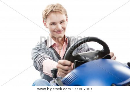 Guy Is Driving