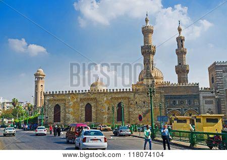The Complex Of Al Azhar Mosque