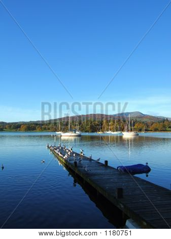 Jetty am windermere