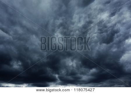 storm cloud before thunder storm, can be used as design background
