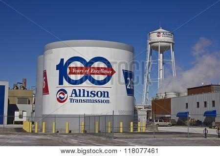 Indianapolis - Circa February 2016: Allison Transmission World Headquarters II