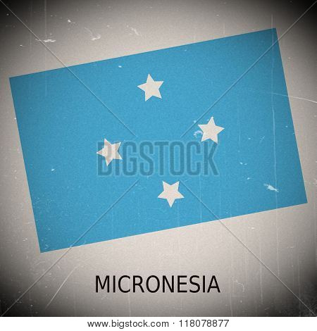 National Flag Of Micronesia
