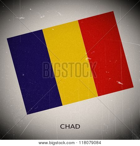 National Flag Of Chad