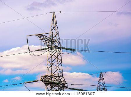 High Voltage Tower.
