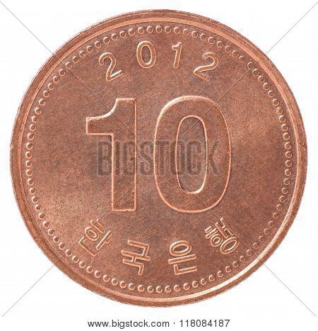 Korean Copper Coin