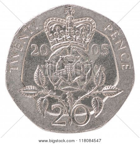 English Pence Coin
