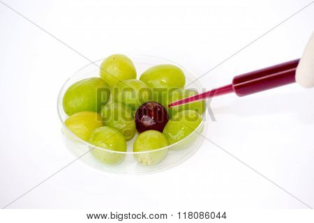 Injecting Grapes