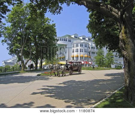 Grand Hotel On Mackinac Island, Mi