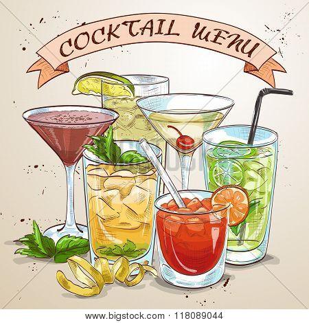 New Era Drinks Coctail menu