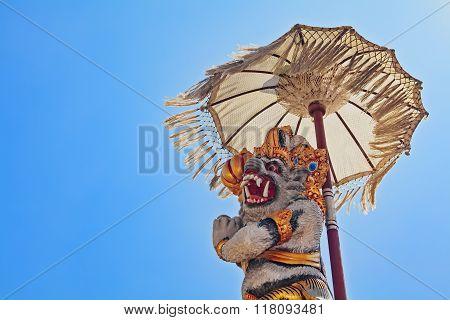 monkey Hanuman - traditional Balinese protective spirit
