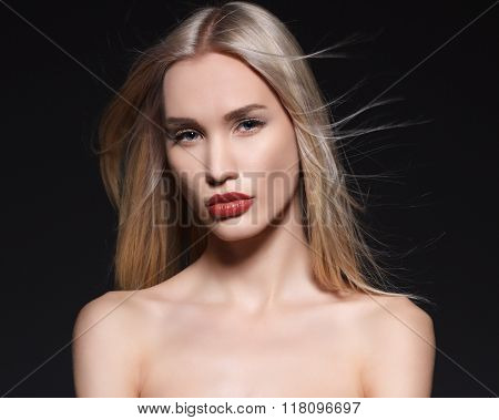 Beauty portrait.