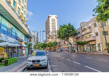 Ben Yehuda street Tel Aviv