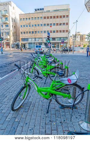 City bike Tel Aviv