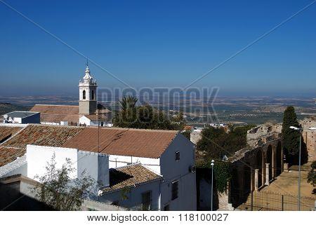 Town rooftops, Estepa.