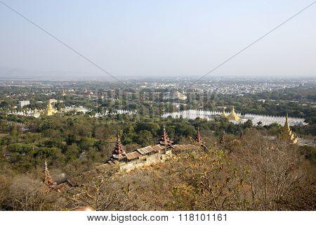 Views over Mandalay