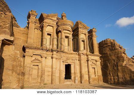 Monastery Temple in Petra