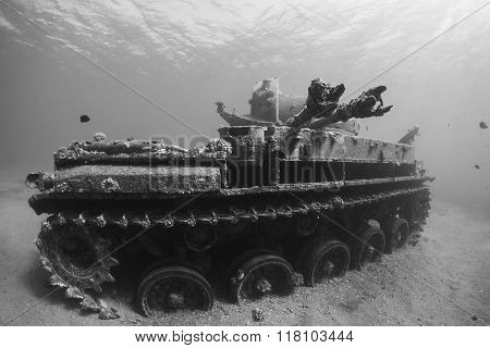 Tank Wreck in Aqaba.