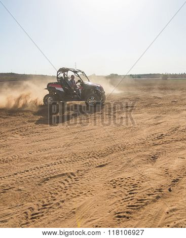 Rc Buggy In The Desert