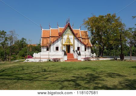 Buddhist Temple In Mueang Boran