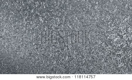 Silver Metal Liquid Pattern