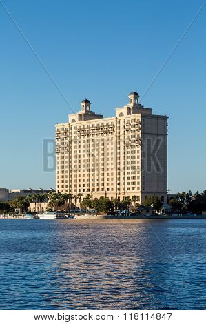 Modern Hotel On Savannah River