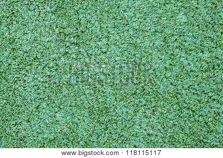 Intricate Detail Background Texture - Green Artifical Grass / Turf.
