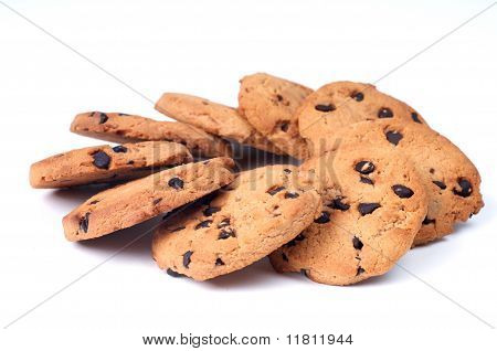 Chocolate Chips Circle Shape