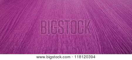 Purple Background Texture Of Blurry Motion, Converging, Wood Grain / Lines.