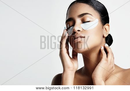 Woman With An Eye Patches