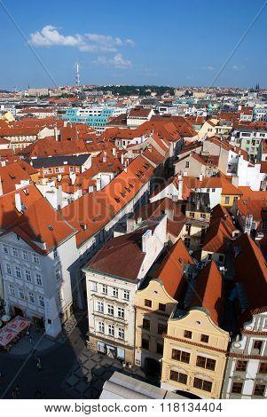 Prague City View