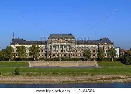 Treasury Building, Dresden, Germany